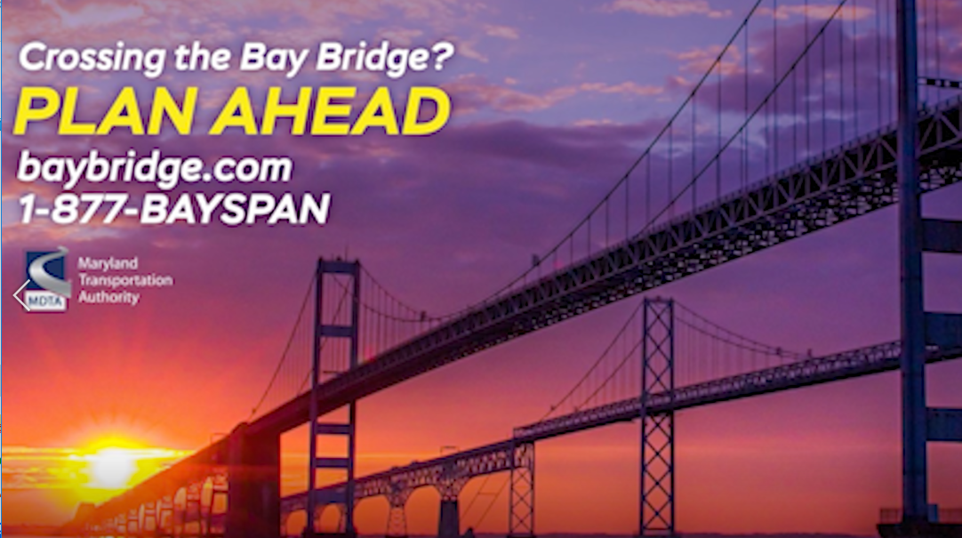 Crossing the Bay Bridge this Fourth of July?  Keep safety and cashless tolling in mind